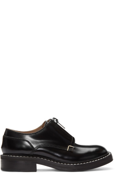Rag & Bone - Black Saxon Zip Oxfords