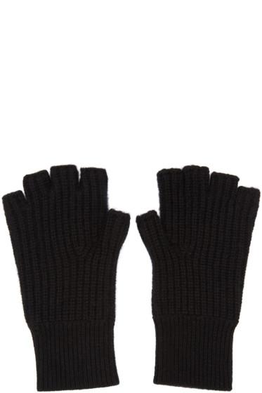 Rag & Bone - Black Cashmere Kaden Gloves
