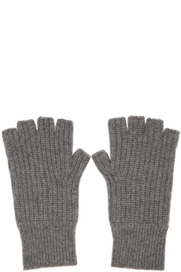 Rag & Bone - Grey Cashmere Kaden Gloves