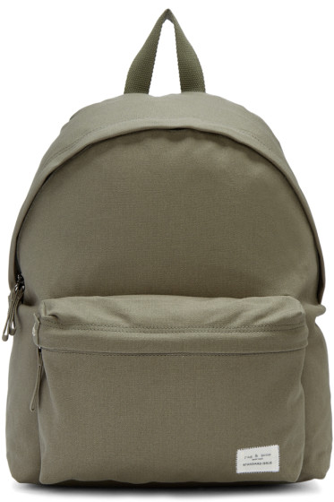 Rag & Bone - Green Standard Issue Backpack