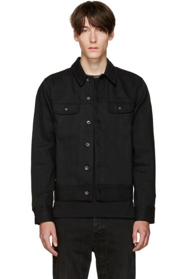 Rag & Bone - Black Selvedge Denim Jacket