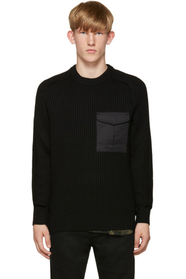 Rag & Bone - Black Elijah Sweater