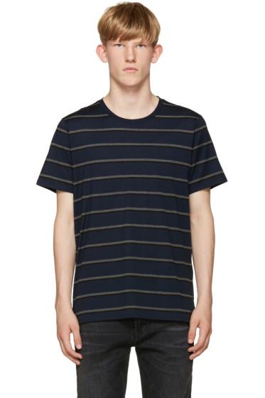 Rag & Bone - Navy Stripe T-Shirt