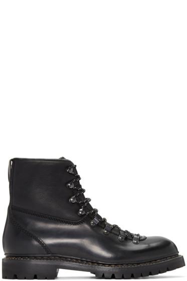 Rag & Bone - Black Vintage Hiker Boots