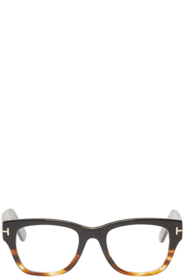 Tom Ford - Black & Tortoiseshell TF5379 Glasses