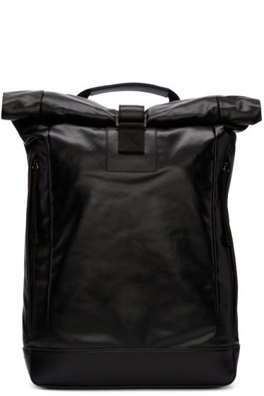 Diesel Black Gold - Black Coated Backpack