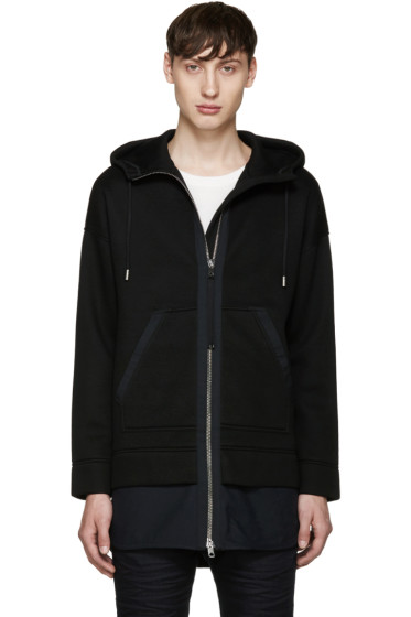 Diesel Black Gold - Black Interlock Hoodie