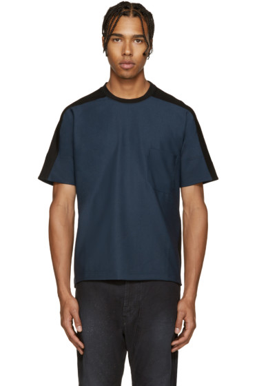 Diesel Black Gold - Navy & Black Mixed T-Shirt