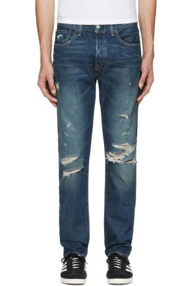Levi's - Indigo 501CT Jeans