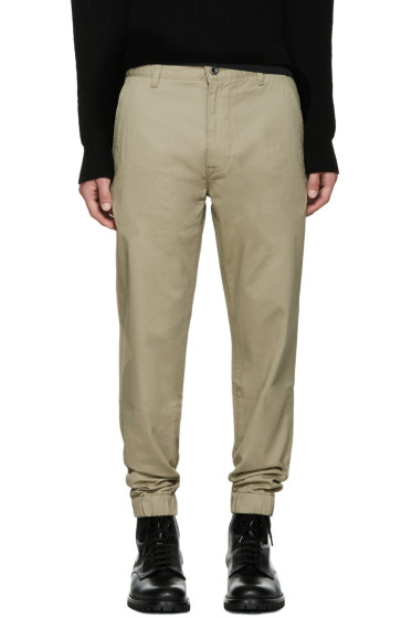 Levi's - Beige Chino Jogger Trousers