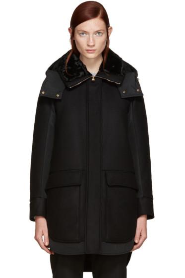 Moncler - Black Down Nomia Coat