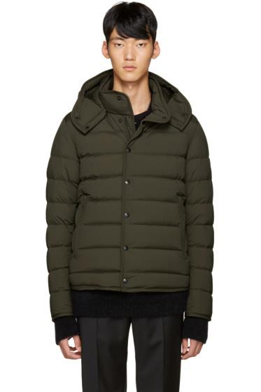 Moncler - Green Down Nazaire Coat