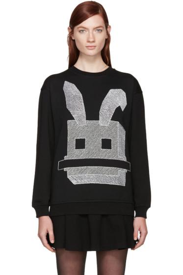 McQ Alexander Mcqueen - Black Bunny Pullover