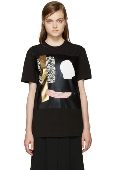 McQ Alexander Mcqueen - Black Face T-Shirt