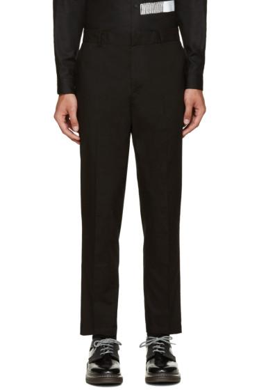 McQ Alexander Mcqueen - Black Doherty Trousers
