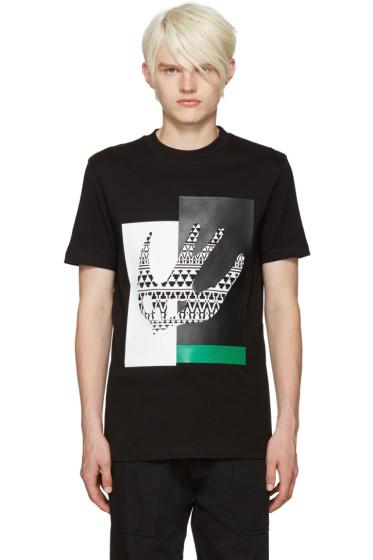 McQ Alexander Mcqueen - Black Masai Swallow T-Shirt