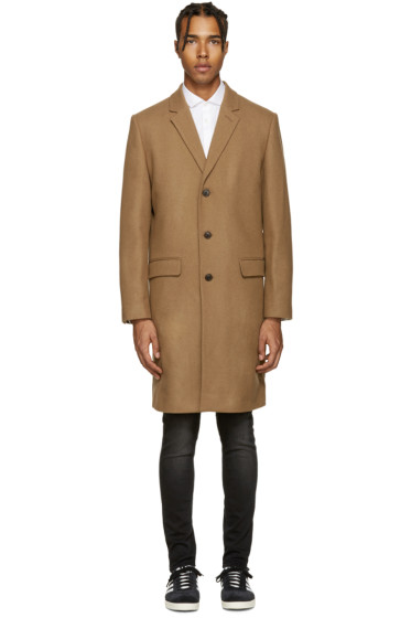 Tiger of Sweden - Tan Wool Dempsey Coat