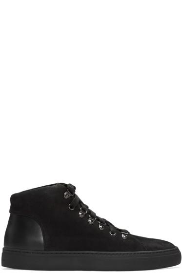 Tiger of Sweden - Black Yngve High-Top Sneakers