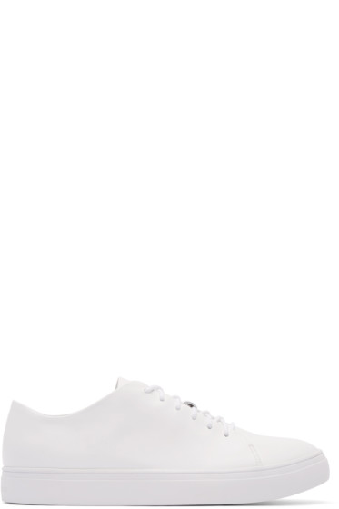 Tiger of Sweden - White Leather Sneakers