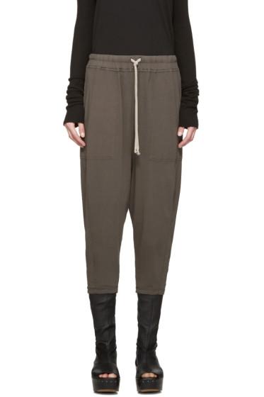 Rick Owens Drkshdw - Grey Drawstring Lounge Pants