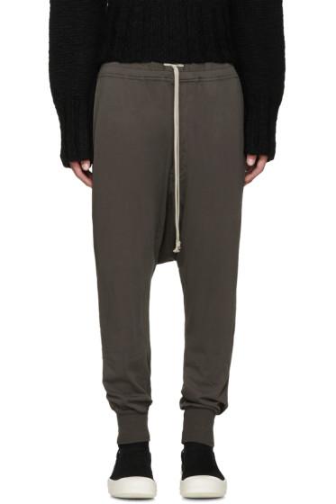 Rick Owens Drkshdw - Grey Prisoner Lounge Pants