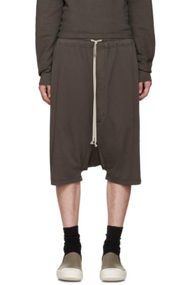 Rick Owens Drkshdw - Grey Pods Shorts