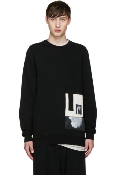 Rick Owens Drkshdw - Black Felpa Sweatshirt