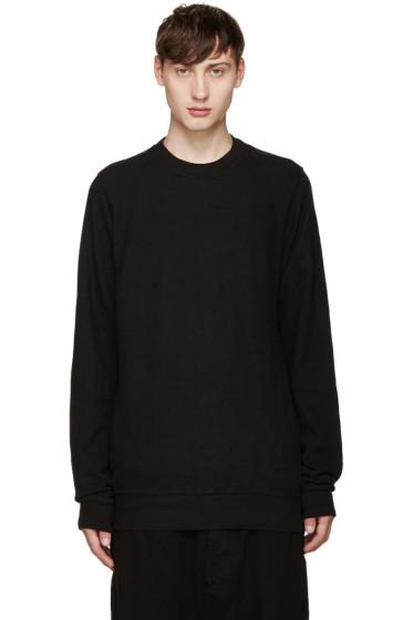 Rick Owens Drkshdw - Black Regular Sweatshirt