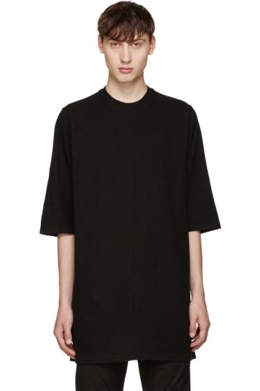 Rick Owens Drkshdw - Black Jumbo T-Shirt