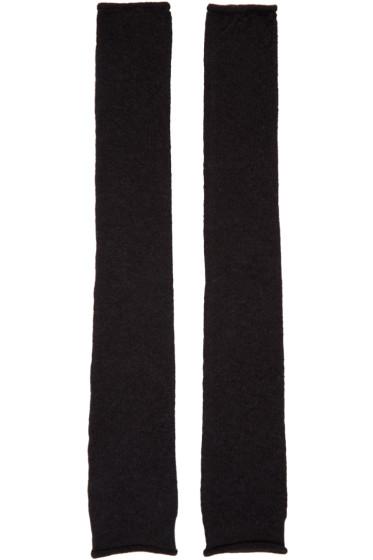 Acne Studios - Black Knit Jaya Sleeves