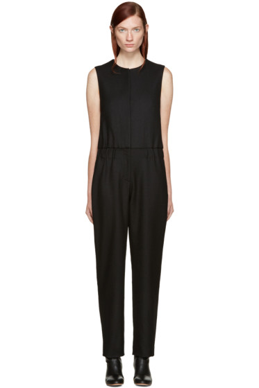 Acne Studios - Black Wool Selsey Jumpsuit