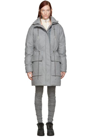 Acne Studios - Grey Wool Alston Parka