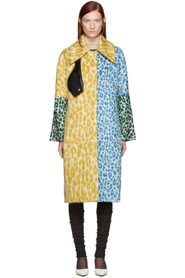 Acne Studios - Multicolor Oversized Berilyn Leo Coat
