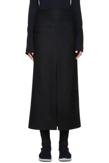 Acne Studios - Navy Wool Pascal Skirt