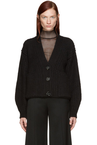 Acne Studios - Black Wool Hadlee Cardigan