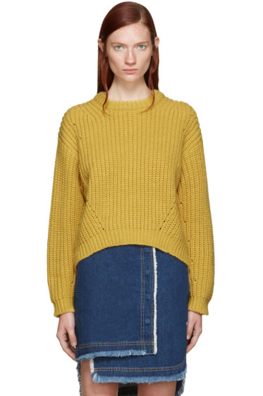 Acne Studios - Yellow Wool Hira Sweater