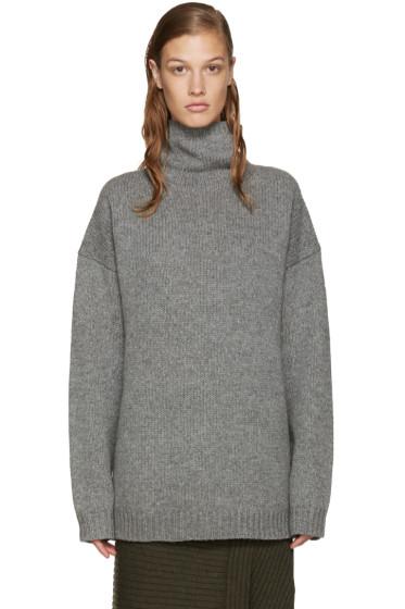 Acne Studios - Grey Wool Saara Turtleneck