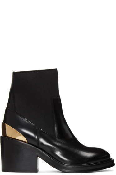 Acne Studios - Black Dion Ankle Boots