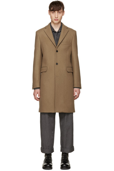Acne Studios - Tan Wool Garrett Coat