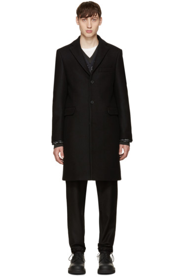 Acne Studios - Black Wool Garrett Coat
