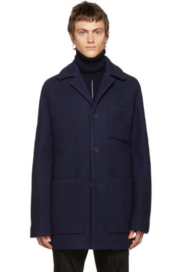 Acne Studios - Navy Wool Min Coat