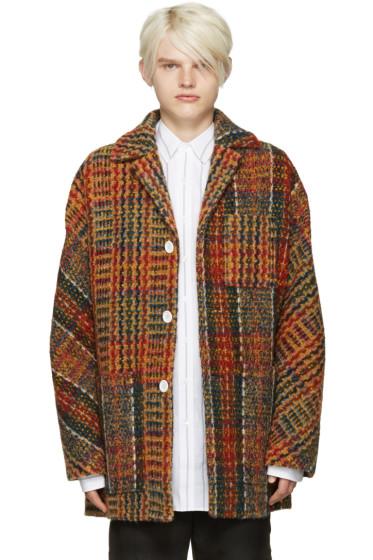 Acne Studios - Multicolor Tweed Min Coat