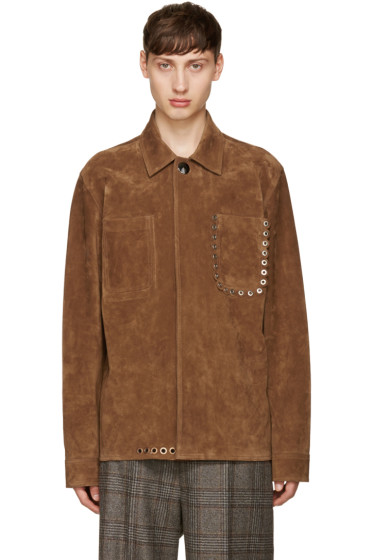 Acne Studios - Brown Suede Amor Jacket