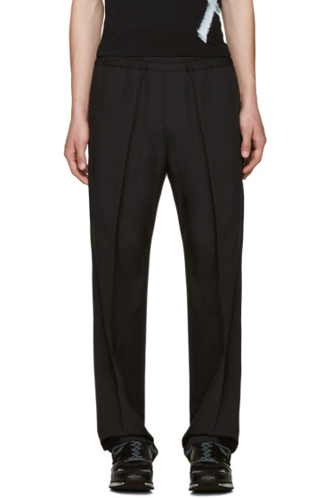 Acne Studios - Black Wool Ryder Trousers