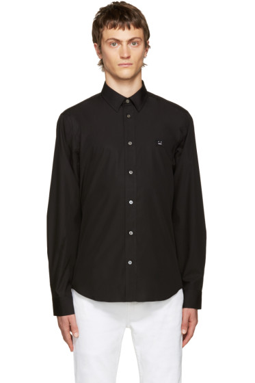 Acne Studios - Black Jeffrey Pop Face Shirt