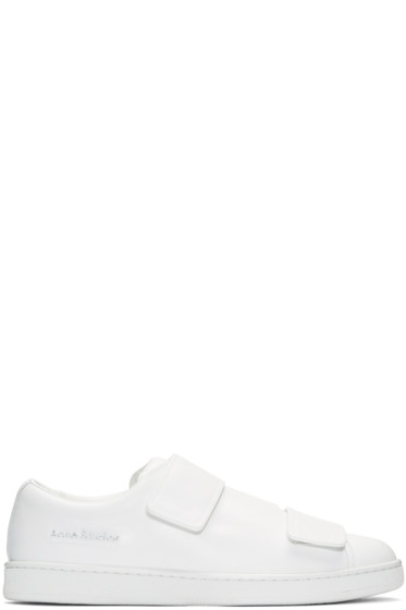 Acne Studios - White Triple Lo Sneakers