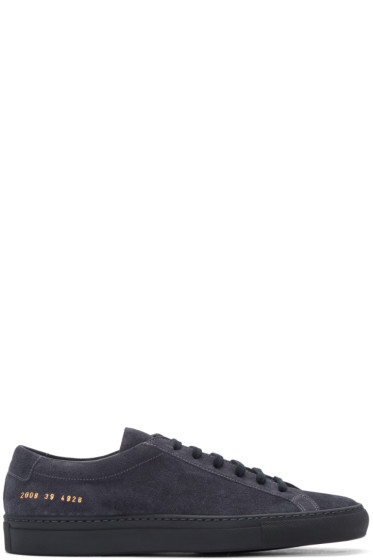 Common Projects - Navy Original Achilles Sneakers
