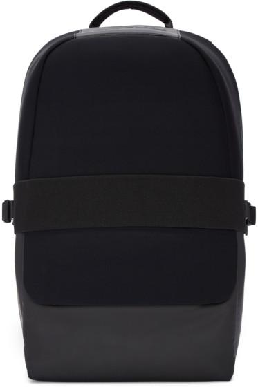 Y-3 - Black Neoprene Qasa Backpack