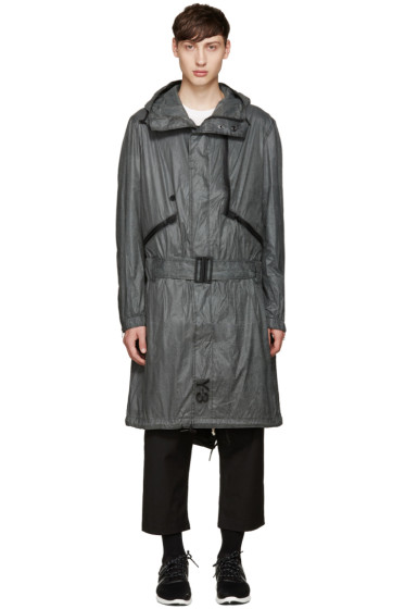 Y-3 - Grey Nylon Mutable Jacket