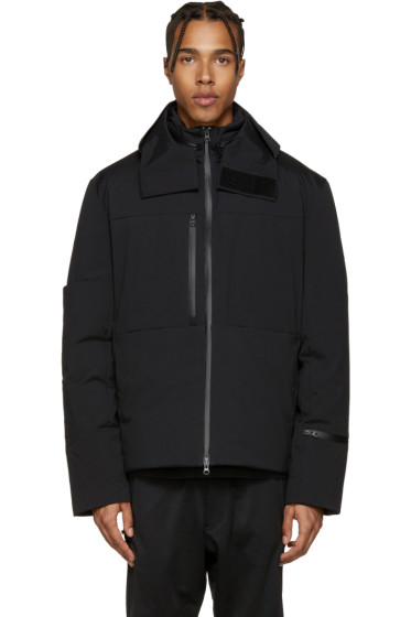 Y-3 - Black Matte Down Jacket